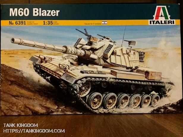 Italeri M60 Blazer box