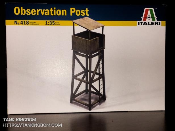 Italeri Observation Post (1 of 1)