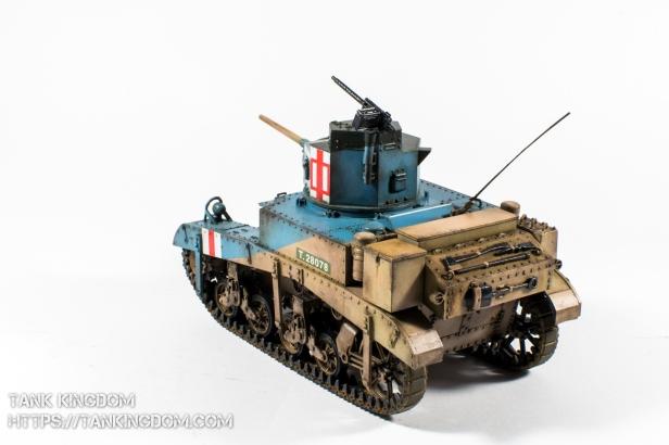 Academy M3 Stuart Honey 1 35 (2 of 16)