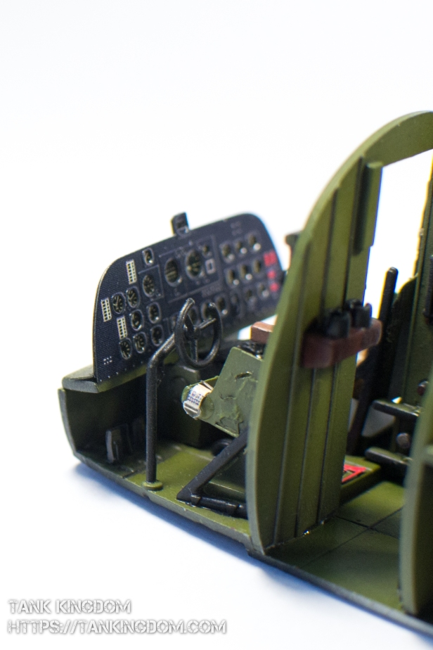 Trumpeter C47A Skytrain interior (20 of 21)