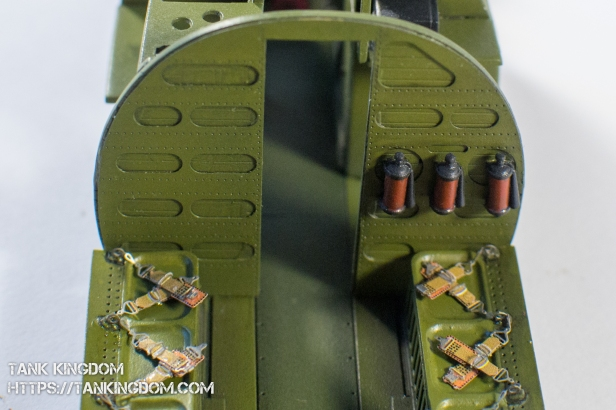 Trumpeter C47A Skytrain interior (8 of 21)