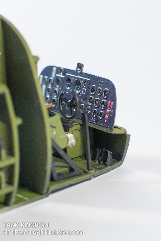 Trumpeter C47A Skytrain interior (9 of 21)